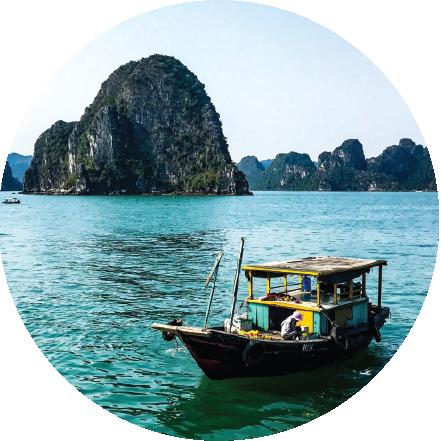 VIETNAM, CAMBOYA, LAOS & TAILANDIA